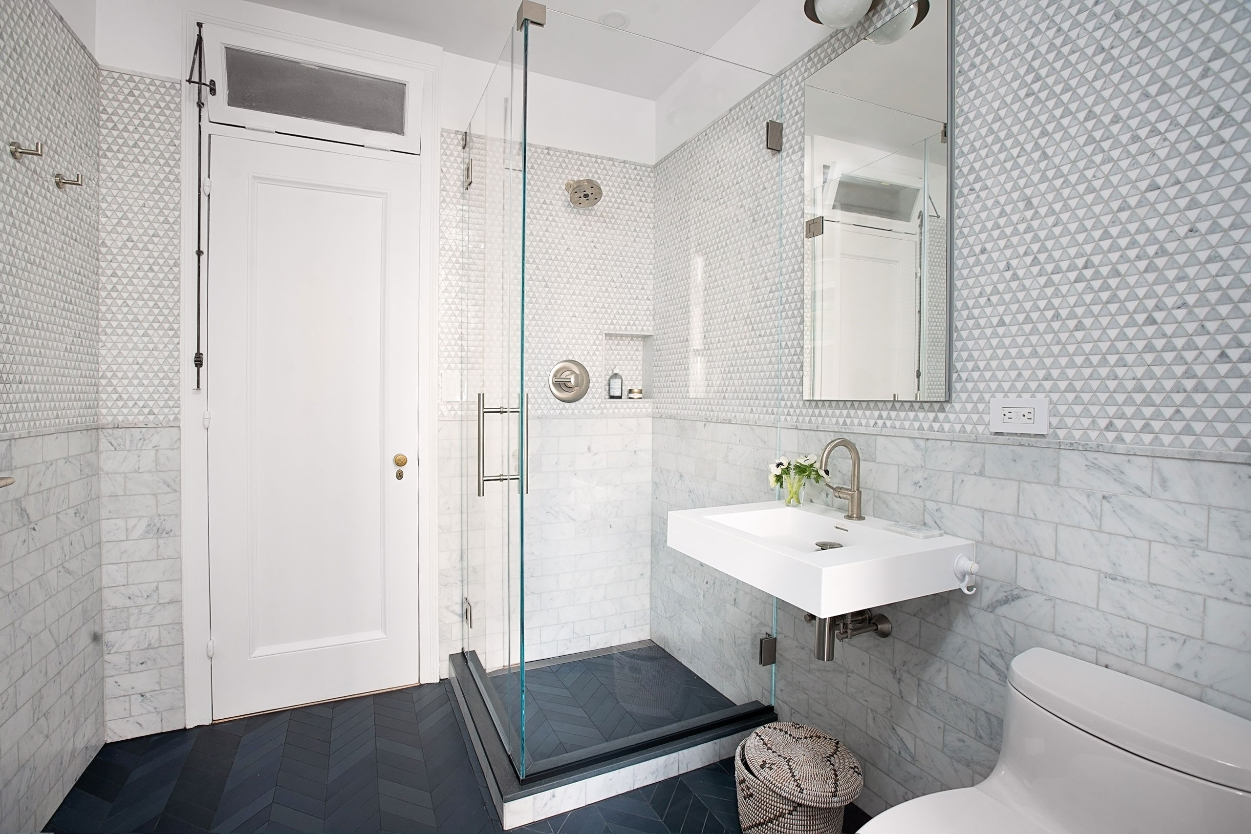 A Bathroom Remodel That Added Space And Laundry 20+ Combined Bathroom And Laundry Inspirations