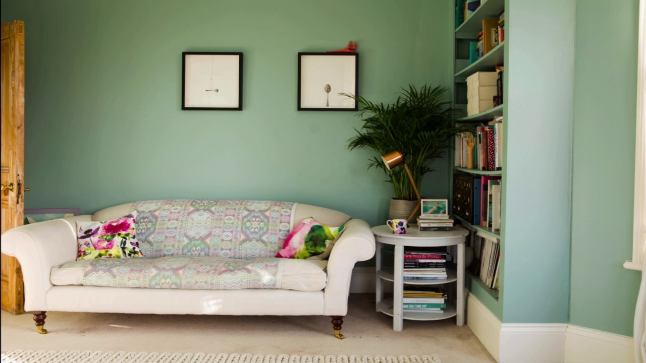 A Day In The Life Of A Farrow & Ball Colour, Featuring Dix Blue Light Blue Farrow And Ball Living Room