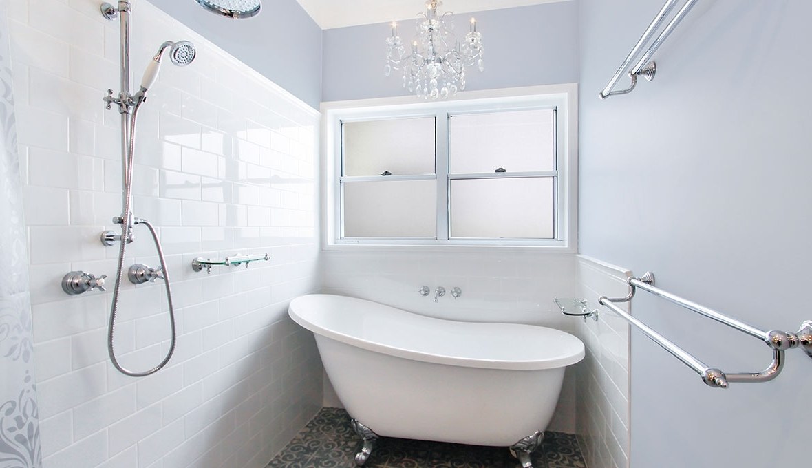 A French Provincial Bathroom Renovation In Gwynneville 10+ French Provincial Bathroom Inspirations