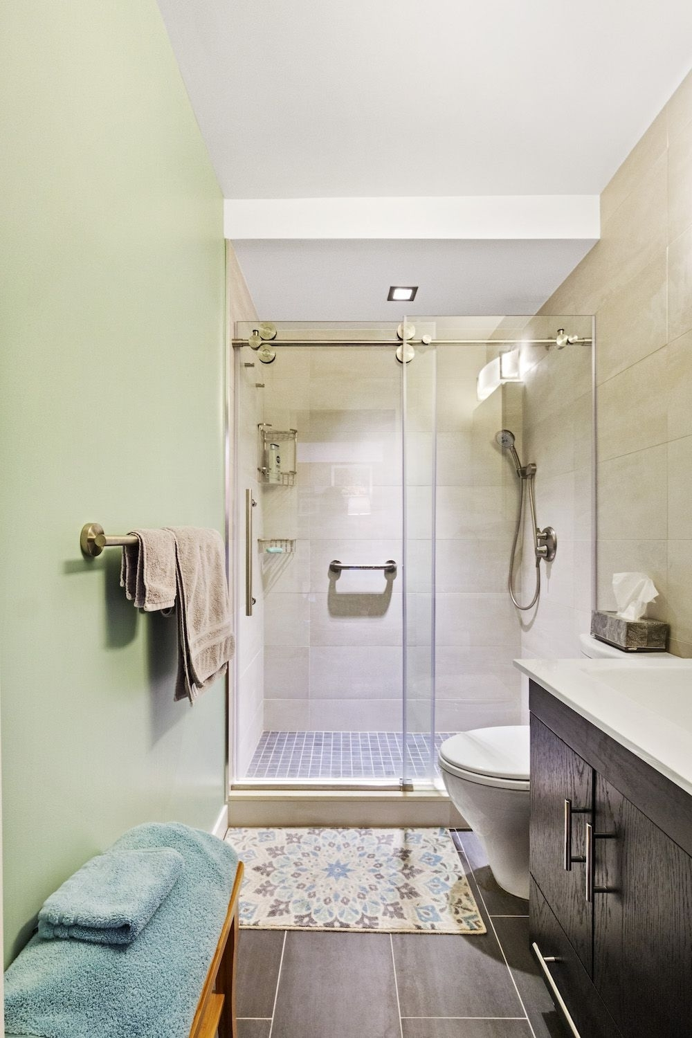 A Small, Windowless Bathroom Expands After Renovating With 30+ Windowless Bathroom Ideas
