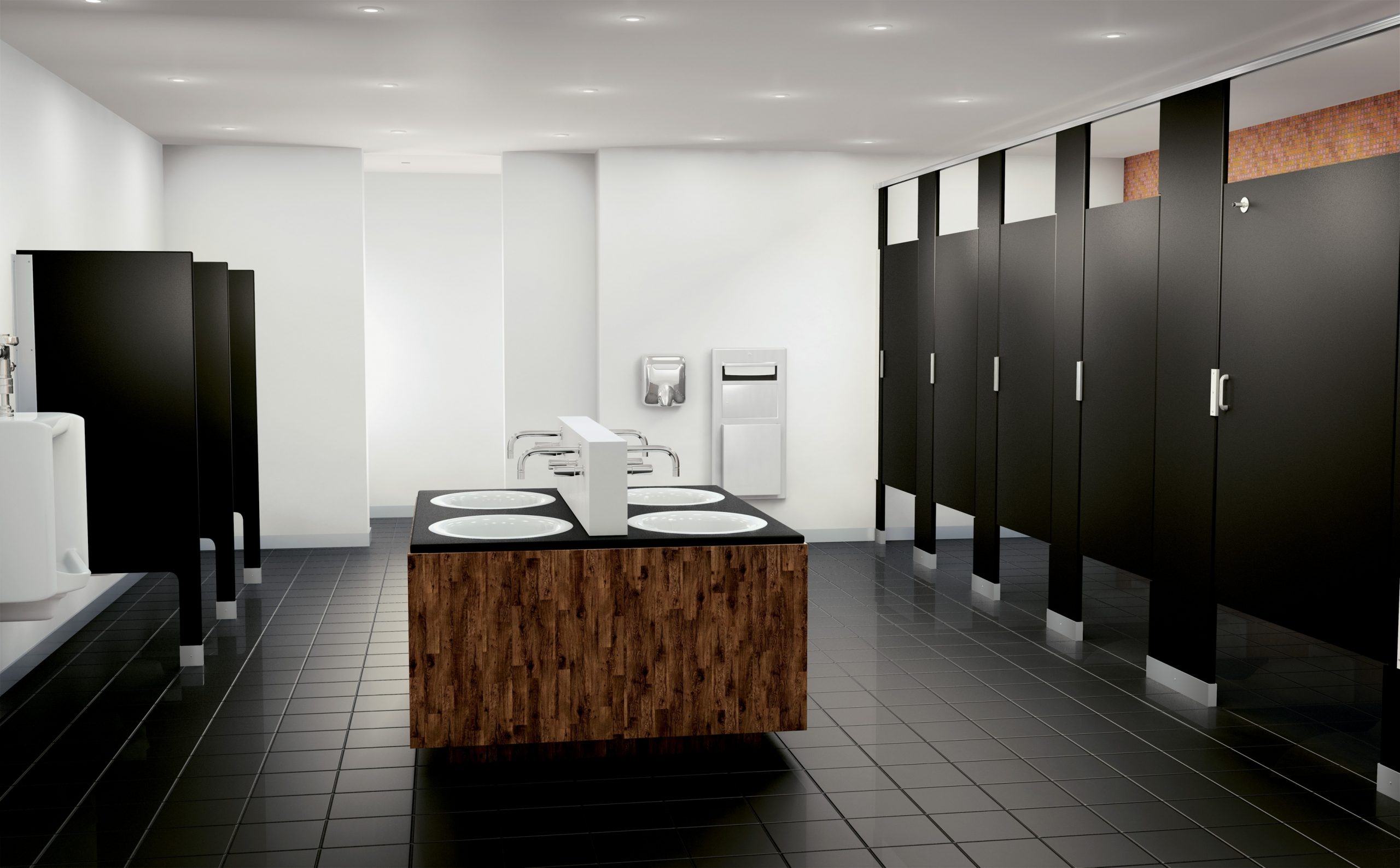 Ada Bathroom Requirements: What Small Businesses Need To Commercial Bathroom Stalls Design