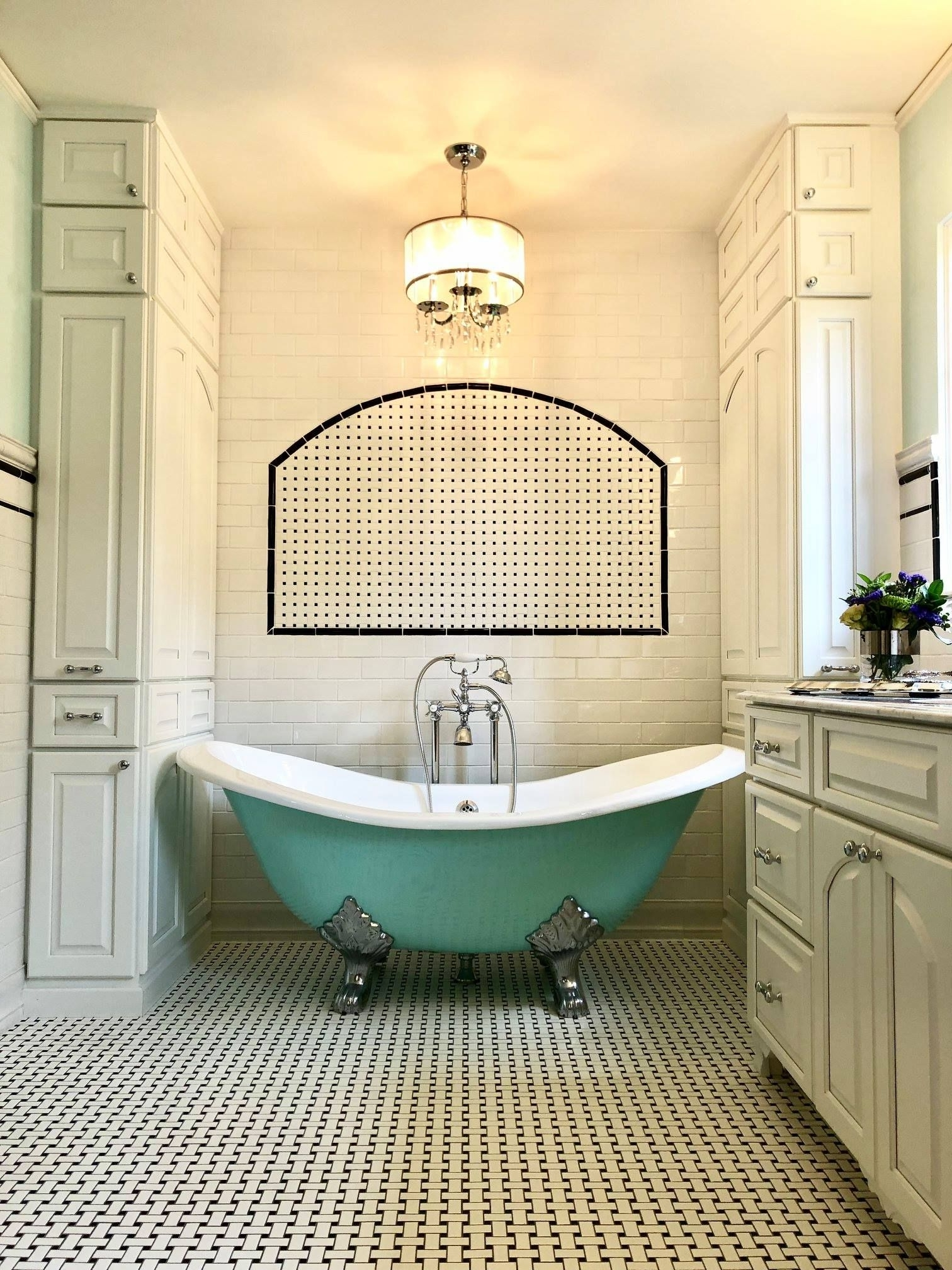 Any Solid Color 'Dunstable 68' 68'' Cast Iron Double Slipper 40+ Cast Iron Tub Bathroom Design Inspirations