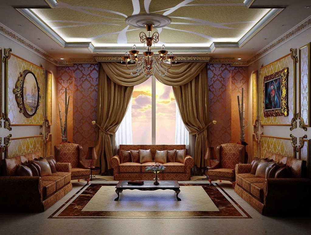 Arabic Interior Design, Decor, Ideas And Photos Arabian Dining Room Decor