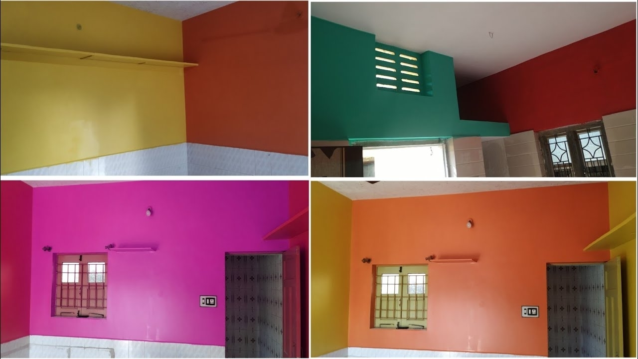 Asian Paint Latest Colour Combination With Colour Code | Bedroom Orange Colour Combination With Code Asian Paints Living Room Color Combination