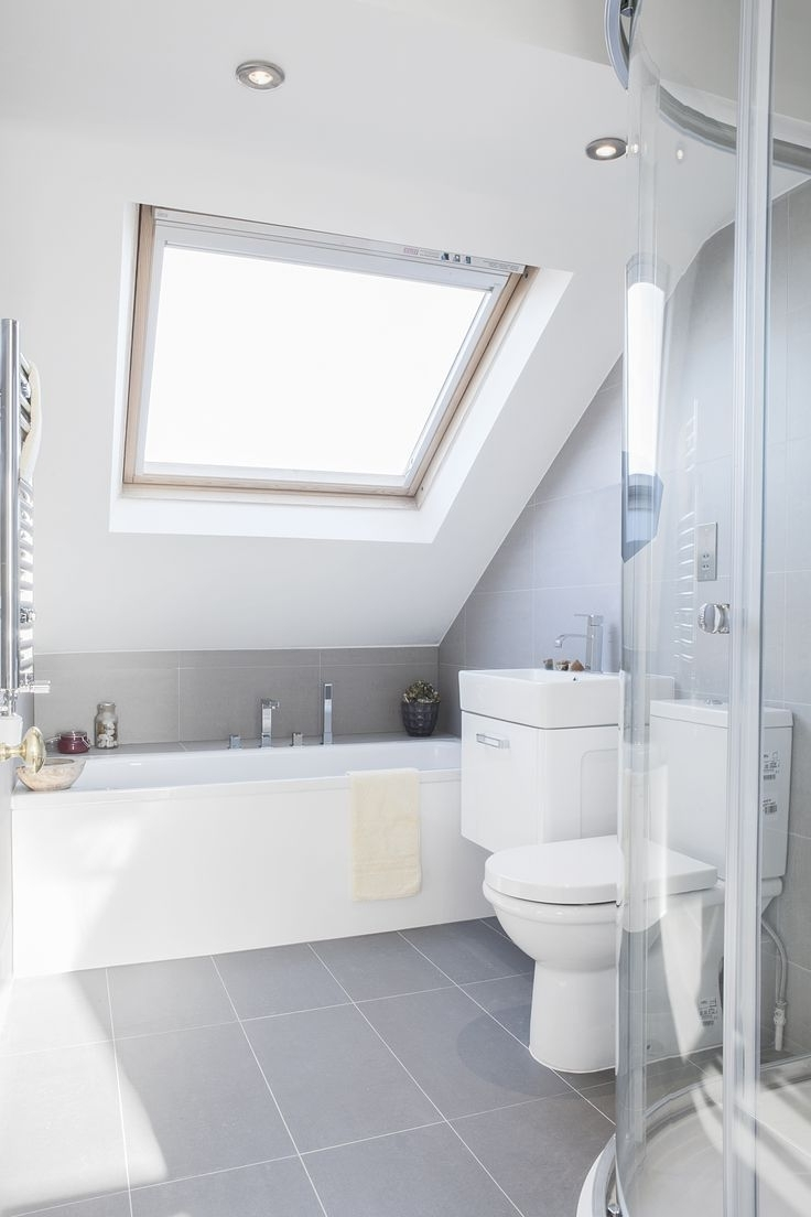 Attic Renovation Bathroom Ideas | Small Attic Bathroom Small Bathroom Loft Conversion