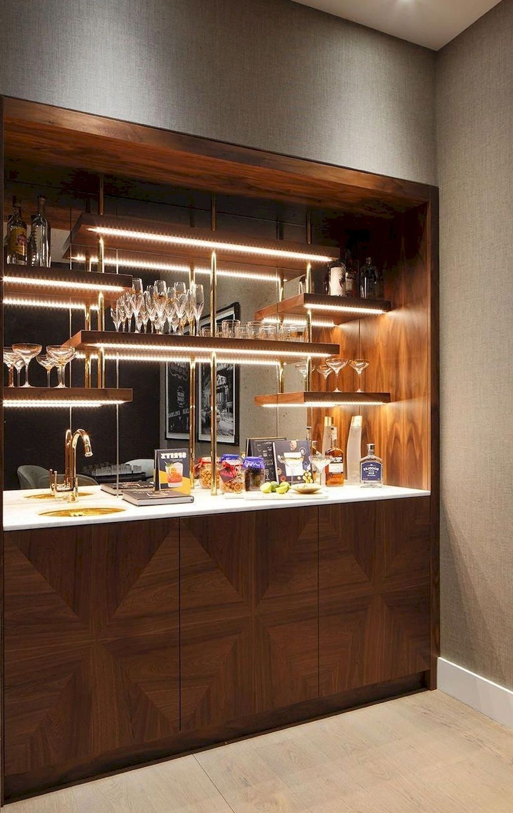 Attractive Can Including A Dwelling Mini Bar Make You Safer 10+ Small Living Room With Minibar Inspirations