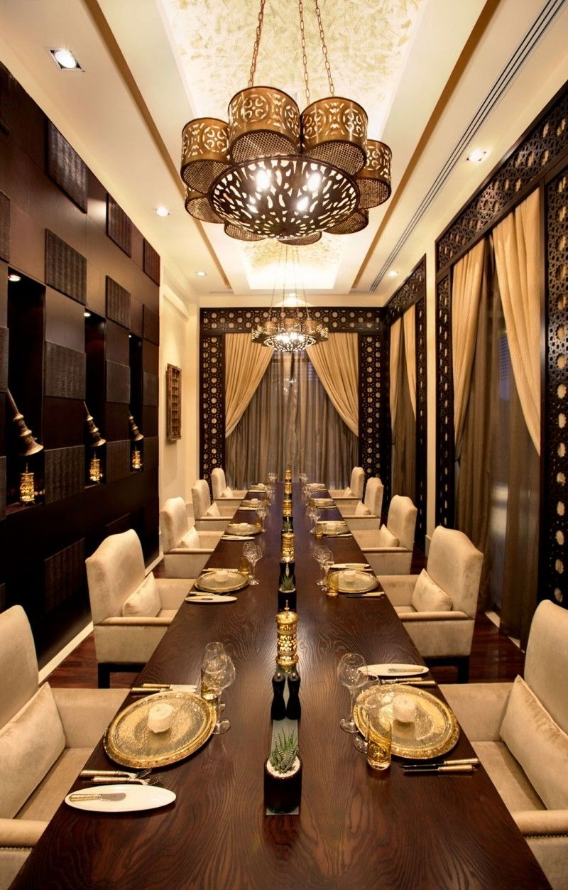 Banyan Tree Al Wadi Resort In The United Arab Emirates Arabian Dining Room Decor