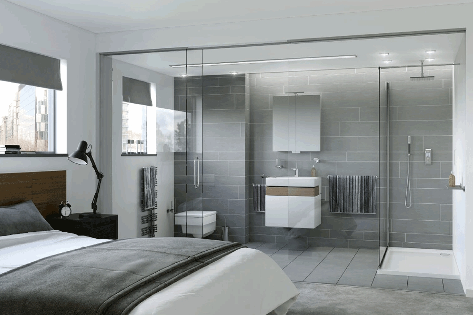 Bathroom Ensuite Design | Ensuite Bathrooms Northern Ireland Small Ensuite Bathroom Ireland