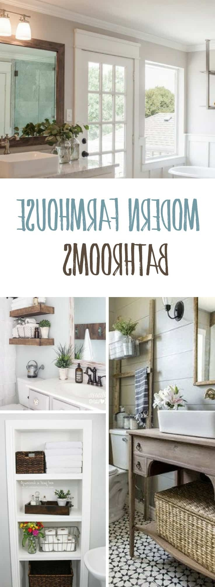 Bathroom Ideas Inspiredjoanna Gaines And Fixer Upper 30+ Fixer Upper Bathroom Design Inspirations