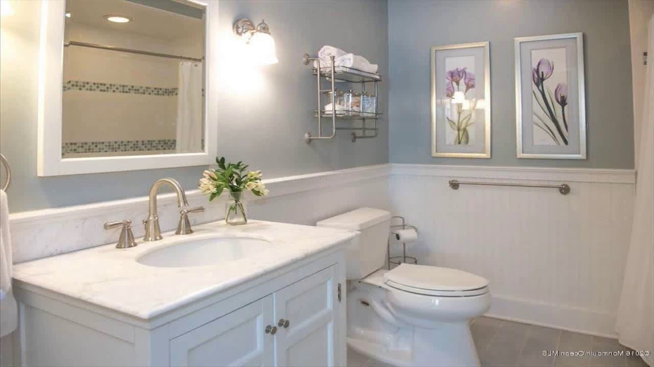 Bathroom Ideas Using Wainscoting 10+ Small Bathroom Designs With Wainscoting Ideas