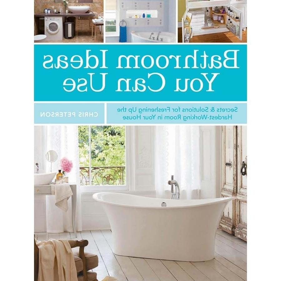 Bathroom Ideas You Can Use In The Books Department At Lowes Lowes Bathroom Idea Book