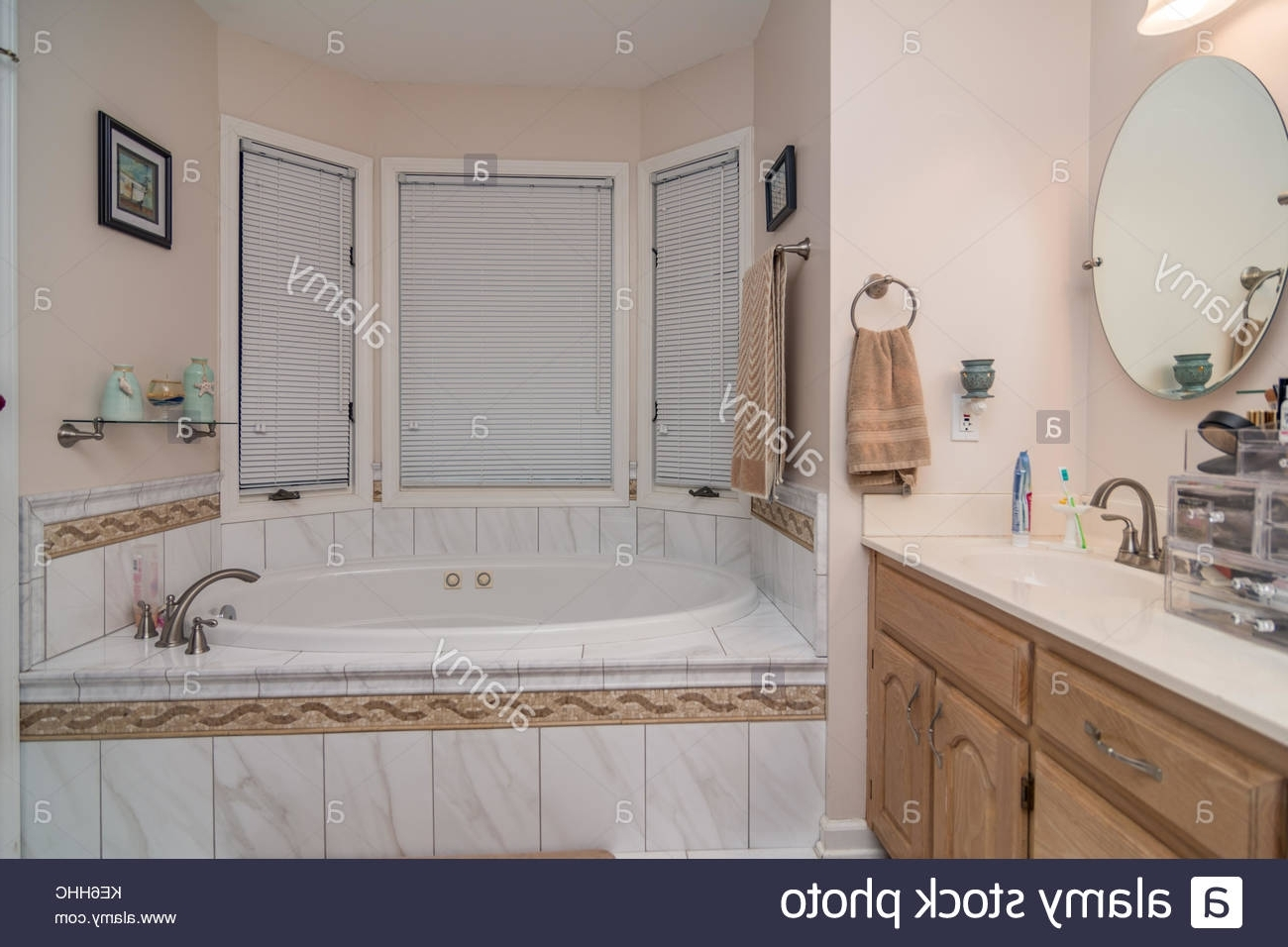 Bathroom Interior Of Middle Class American Home In Kentucky Middle Class Bathroom Designs