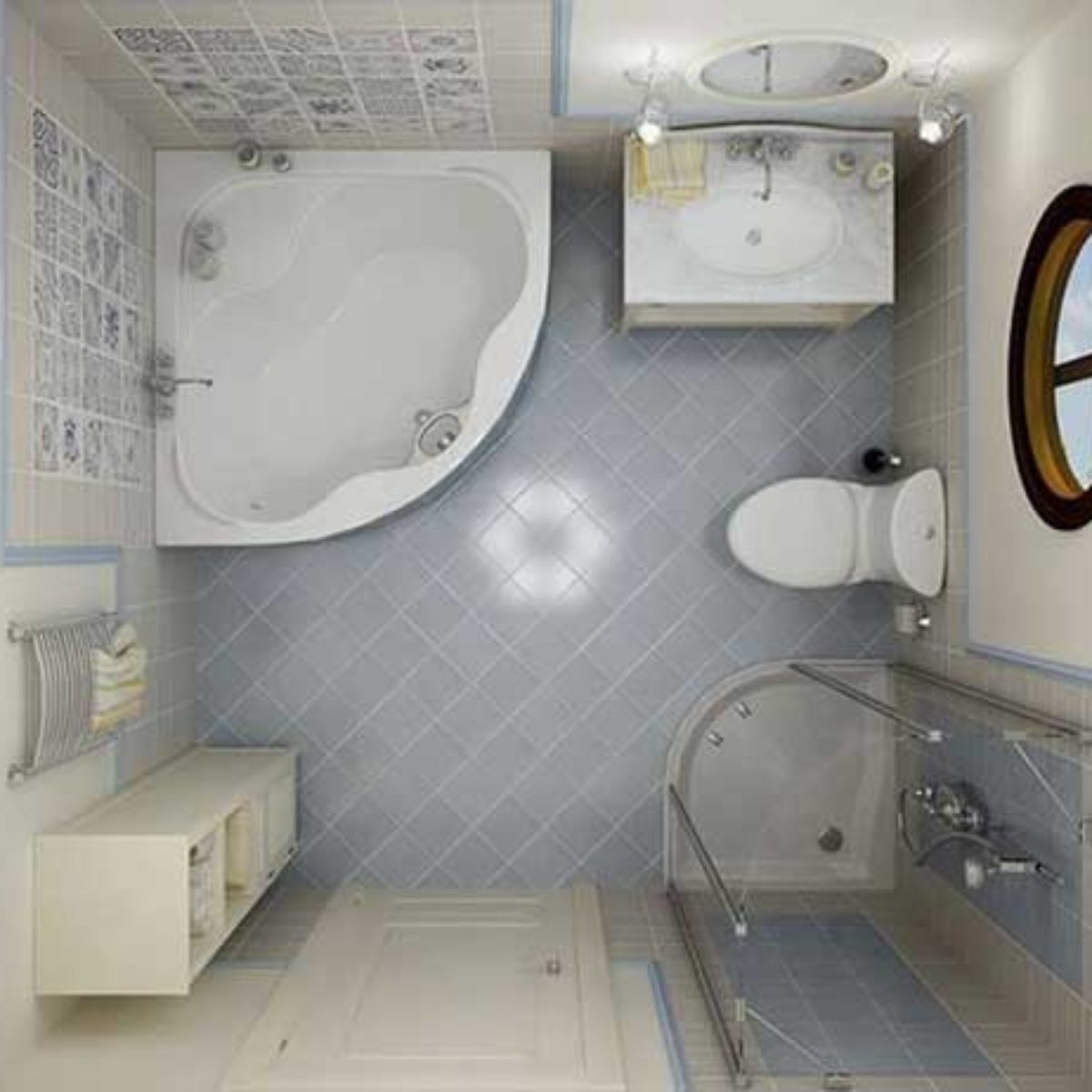 Bathroom Layout And Plan For Small Space Decorchamp 5Ft By 5Ft Bathroom Design