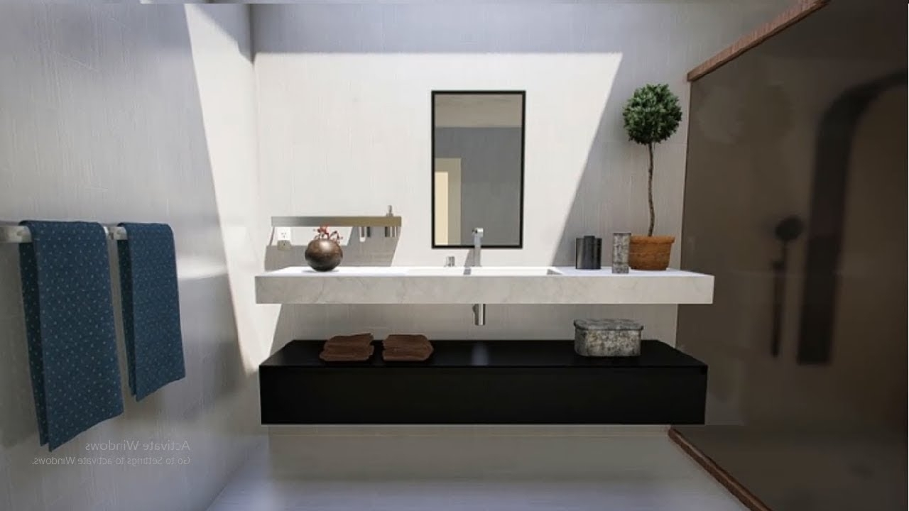 Bathroom Modern Vanity Design Ideas | 2019 Vanity Designs For Bathrooms Pakistan