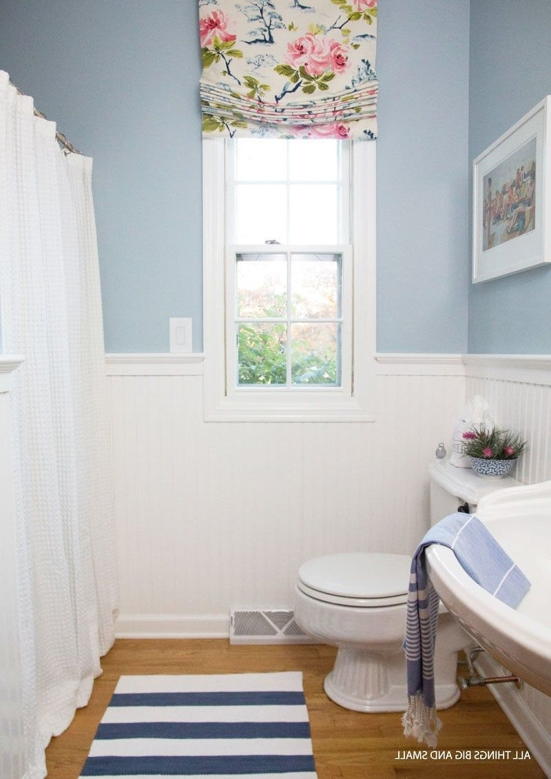 Beadboard Bathroom How To Step Step All Things Big And Small 30+ Using Beadboard In A Small Bathroom Ideas