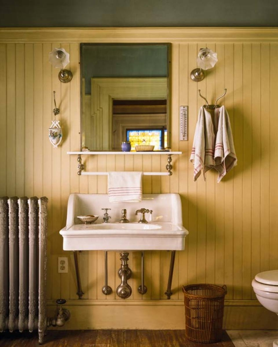 Behind The Scenes With Beadboard Old House Journal Magazine 30+ Using Beadboard In A Small Bathroom Ideas