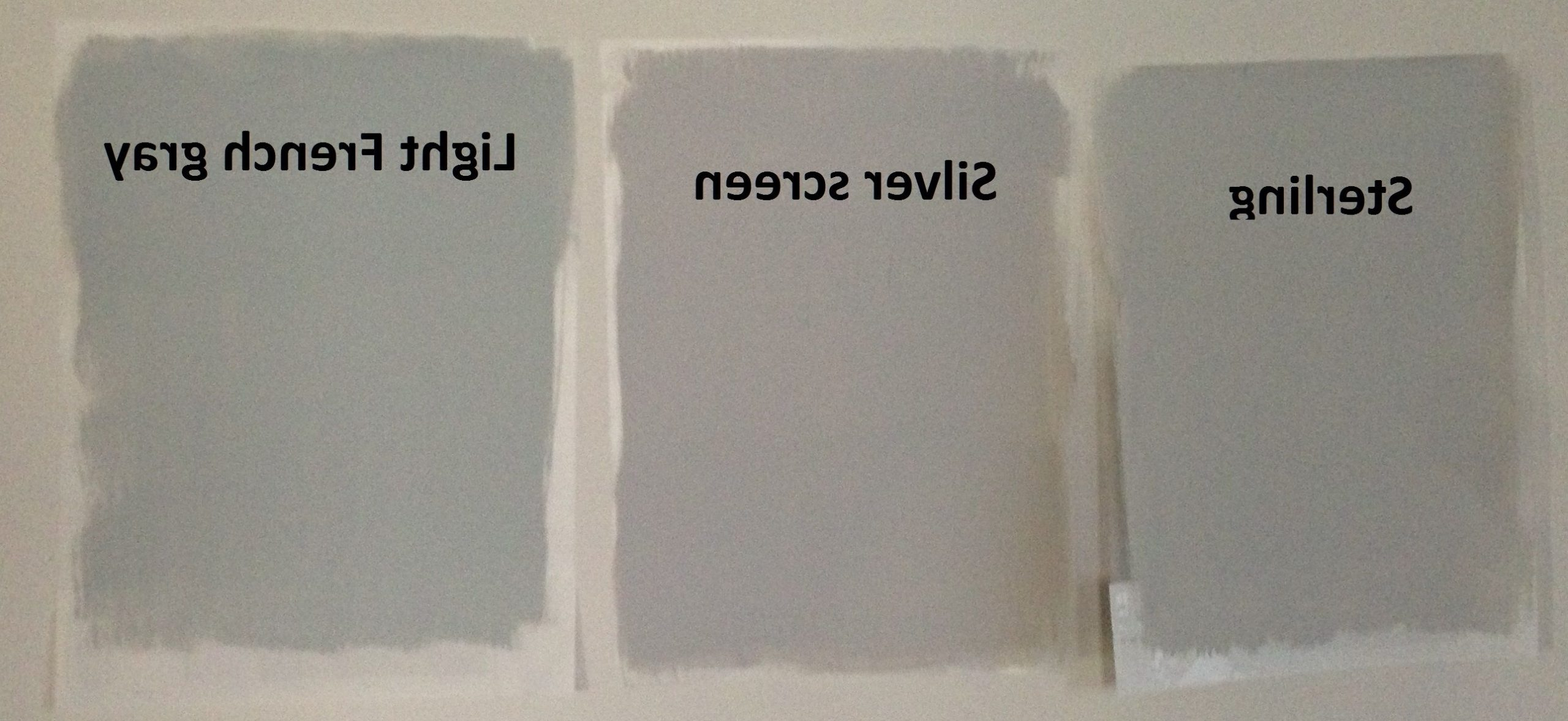 Behr Light Gray Paints: Sterling, Silver Screen, And Light Behr Light French Gray Living Room