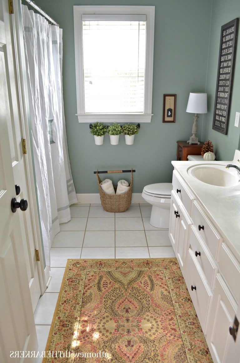 Behr Marquee Interior Paint And Primer In Color : Green 40+ Behr Bathroom Color Inspirations