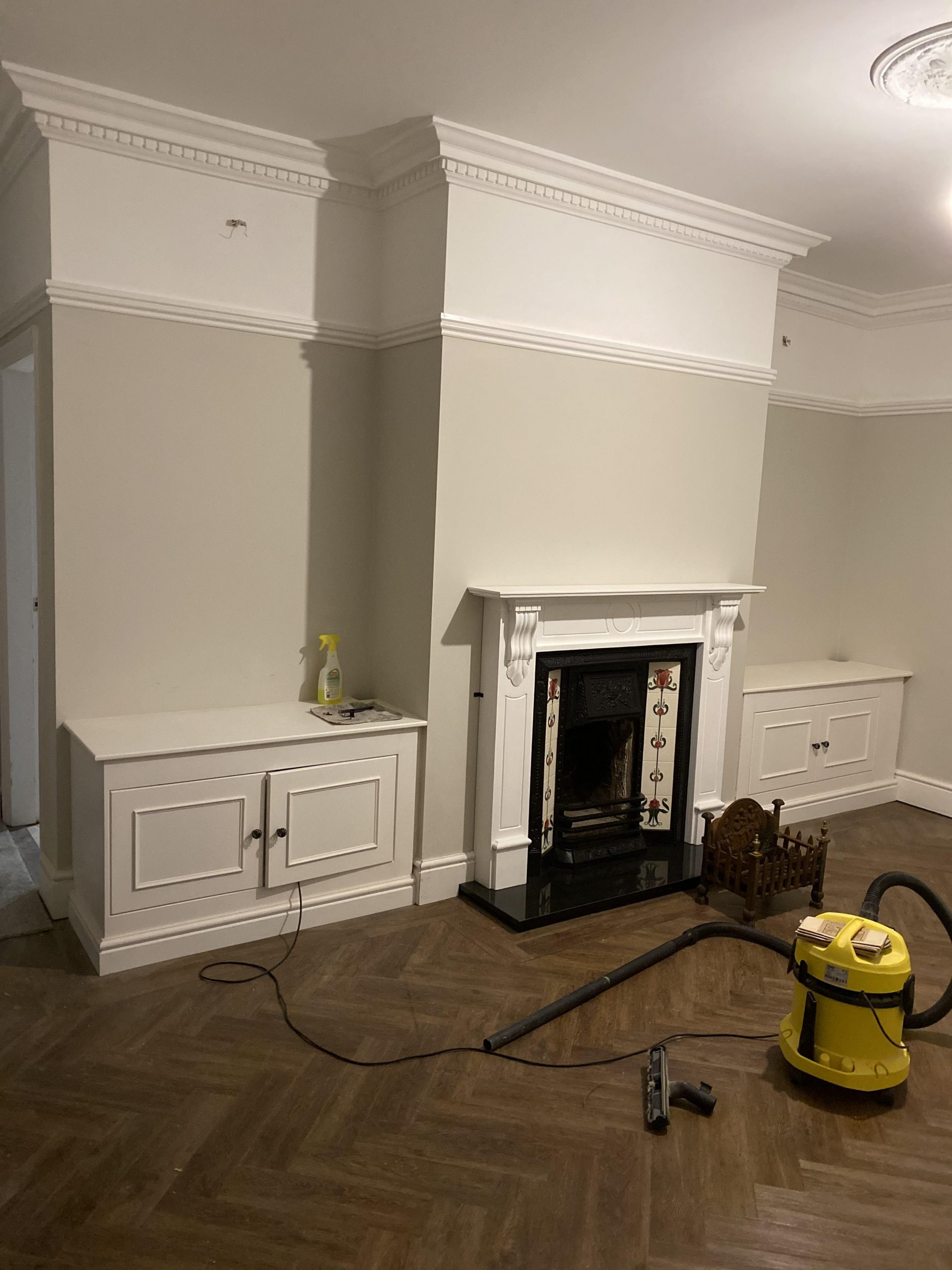Bespoke Cabinets Either Side Of Chimney Breast. : Carpentry 30+ Living Room Chimney Breast Inspirations