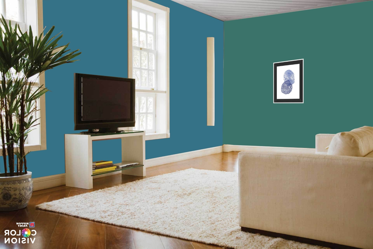 Best Combos For Home Painting Colour Ideas For 2020   Nippon Nippon Paint Designs Living Room