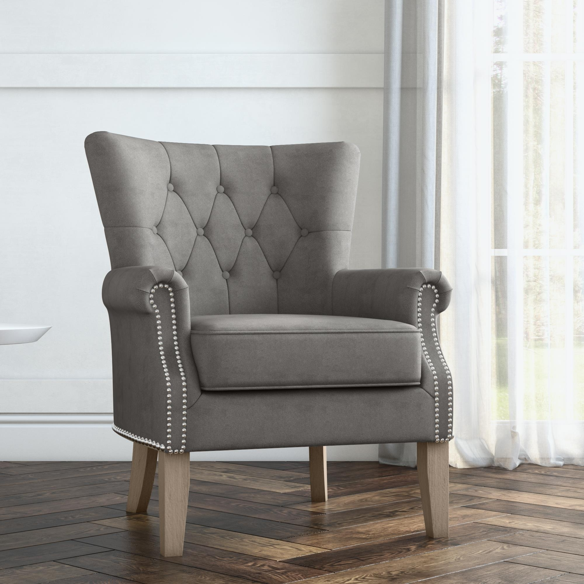 Better Homes & Gardens Accent Chair, Living Room & Home Office, Gray Walmart 40+ Better Homes Living Room Ideas
