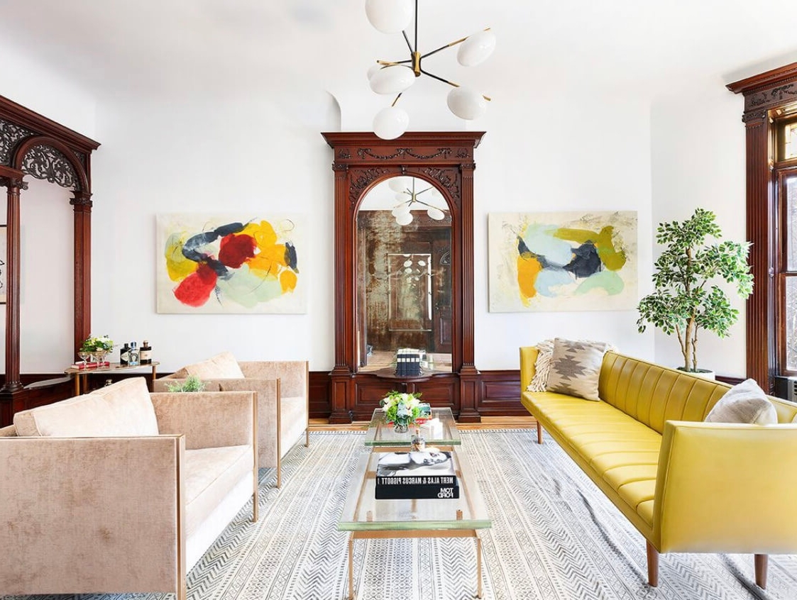Brownstone Boys: Living In The Living Room | Brownstoner 40+ Brownstone Living Room Decorating Ideas