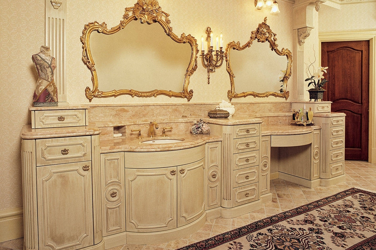 Cabinetry | Bath Cabinetry | French Provincial Bathroom French Provincial Bathroom