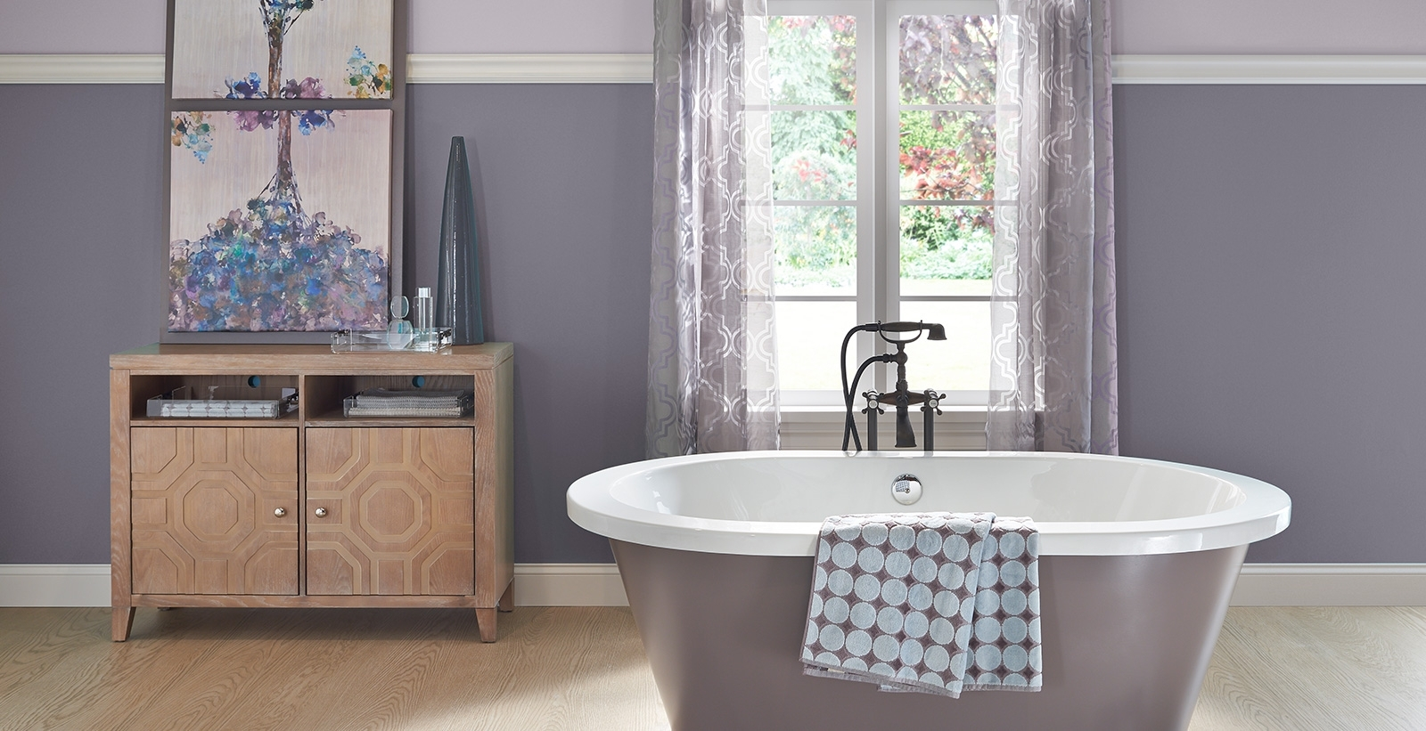 Calming Bathroom Ideas And Inspirational Paint Colors | Behr 10+ Bathroom Paint Color Behr Ideas