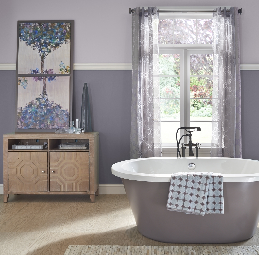 Calming Bathroom Ideas And Inspirational Paint Colors | Behr Bathroom Paint Color Behr