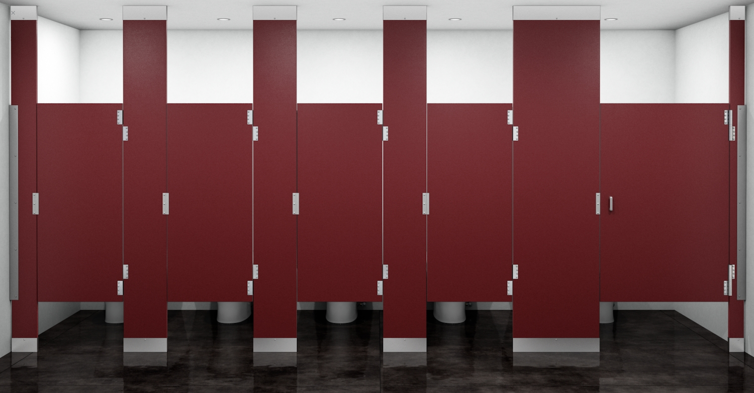 Ce Center The New High Privacy Toilet Compartment Commercial Bathroom Stalls Design