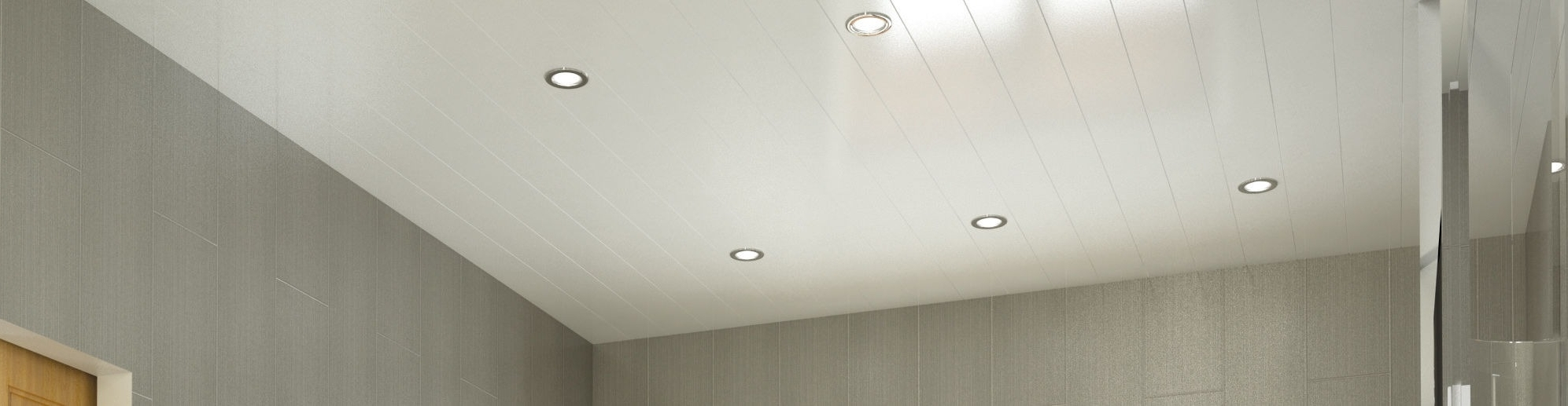 Ceiling Panels: 3 Advantages Of Installing Them In Your Bathroom 40+ Bathroom Ceiling Cladding Ideas