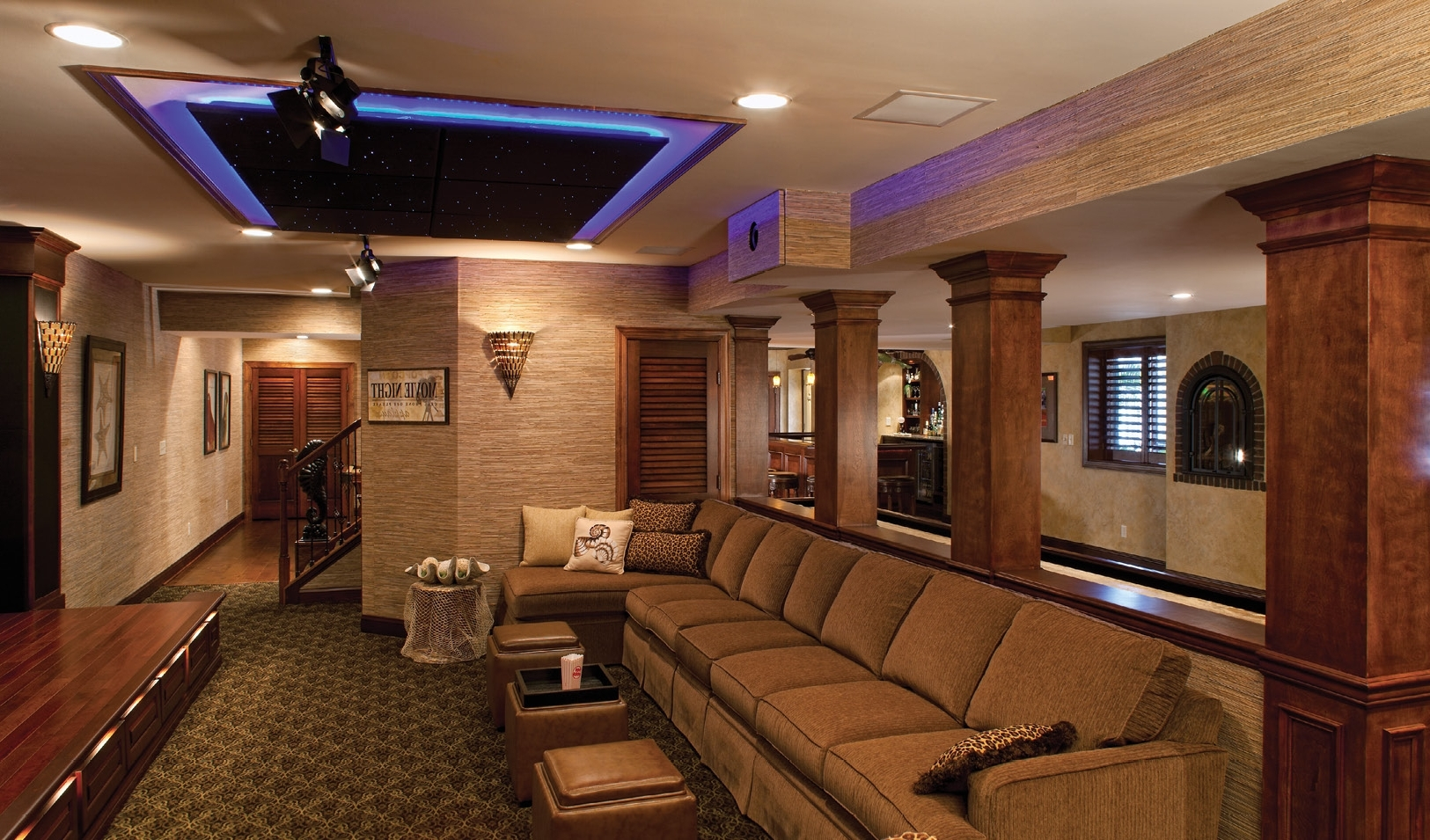Ceiling Soffits Electronic House 40+ Soffit Lighting Living Room Ideas