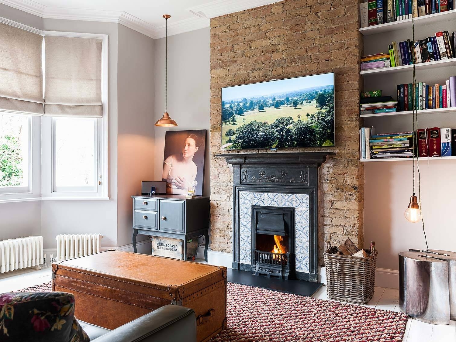 Chimney Breast Living Room Ideas & Photos | Houzz Small Living Room With Chimney Breast