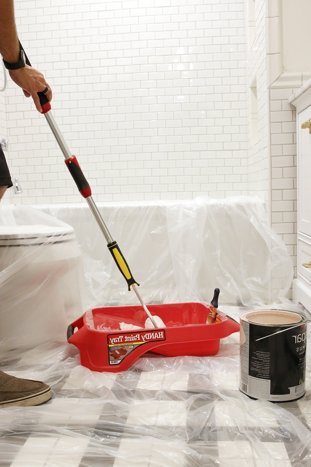 Choosing A Paint Color For Our Small, Windowless Bathroom Windowless Bathroom Paint