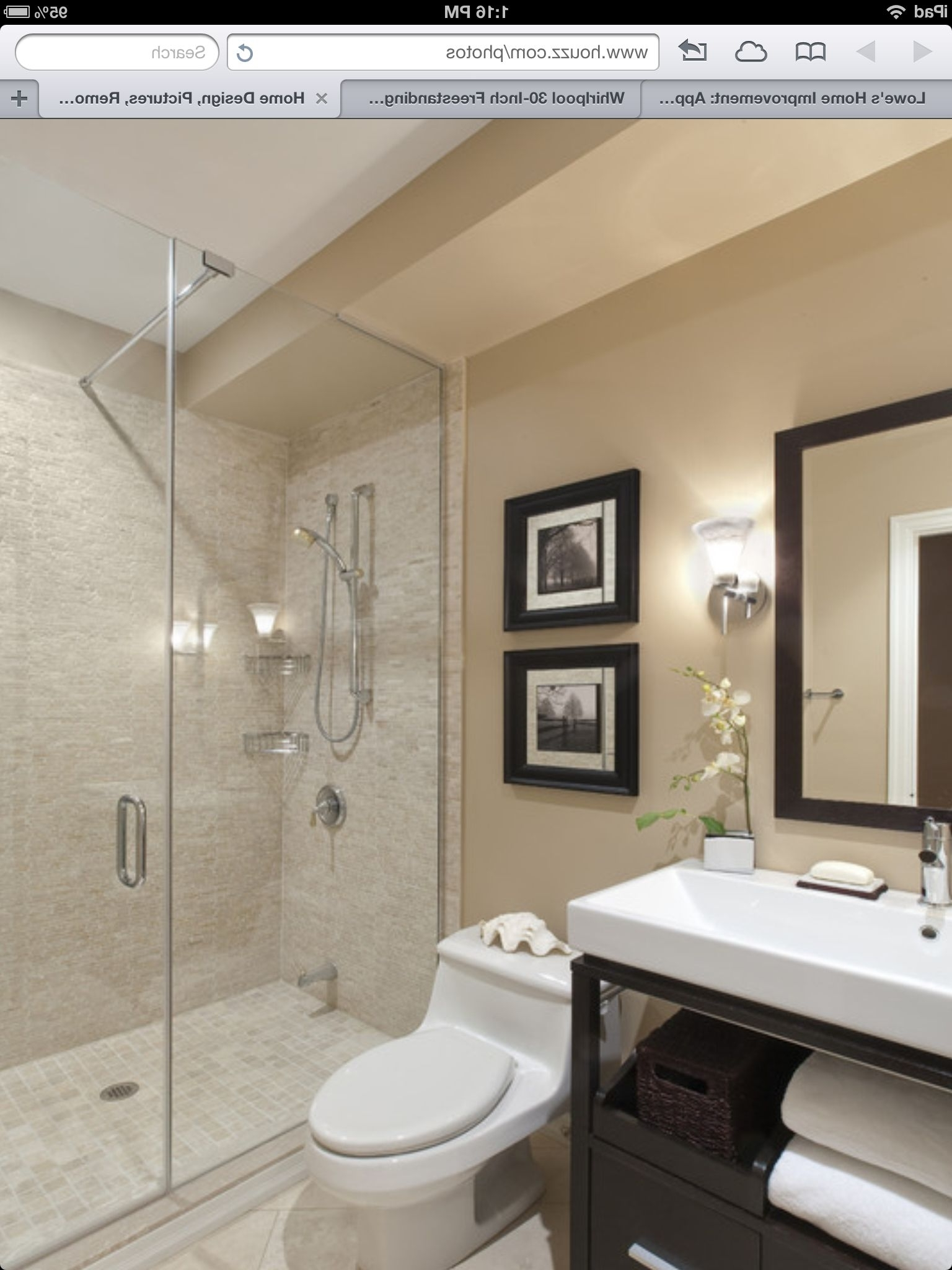 Clean Look | Transitional Bathroom Design, Small Bathroom Lowe'S Bathroom Design Tool