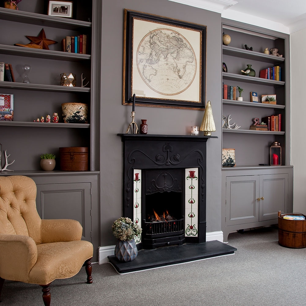 Clever Designs For Alcoves – 21 Alcove Ideas That Make The 40+ Alcove Storage Living Room Inspirations