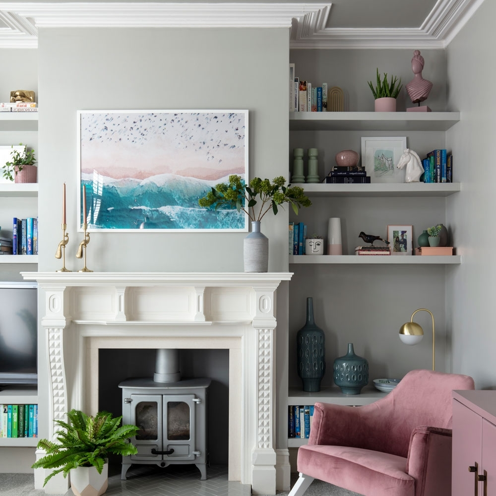 Clever Designs For Alcoves – 21 Alcove Ideas That Make The Small Living Room With Chimney Breast
