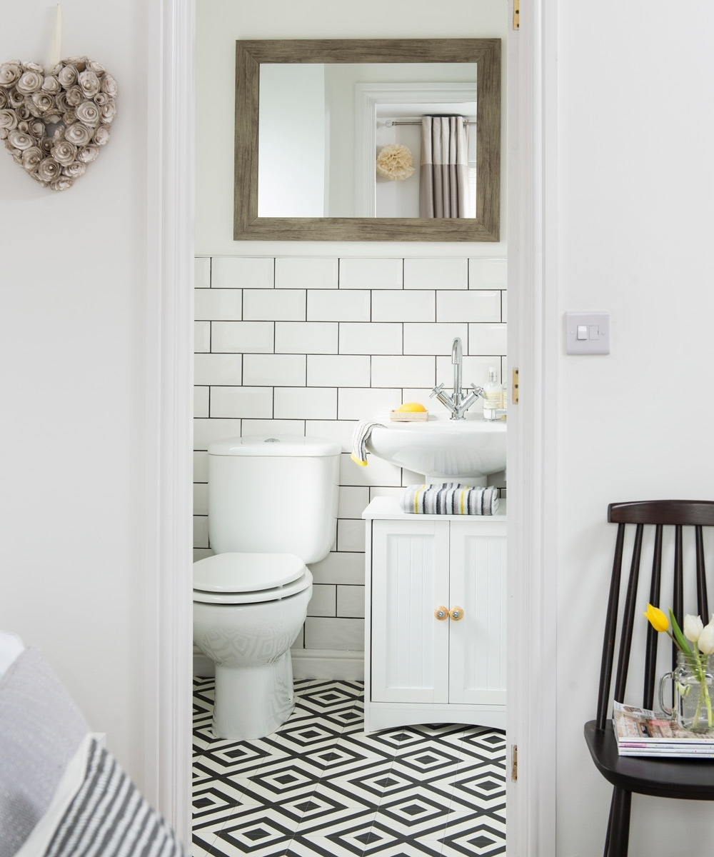 Cloakroom Ideas For Small Spaces – Downstairs Toilet Ideas Cloakroom Bathroom