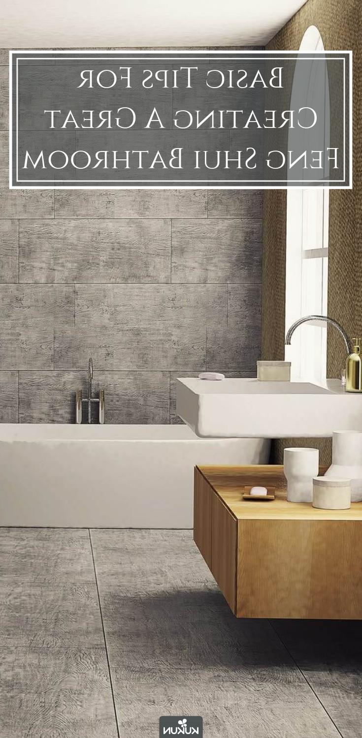 Create A Relaxing Bathroomfollowing The Principles Of Feng Shui Small Bathroom