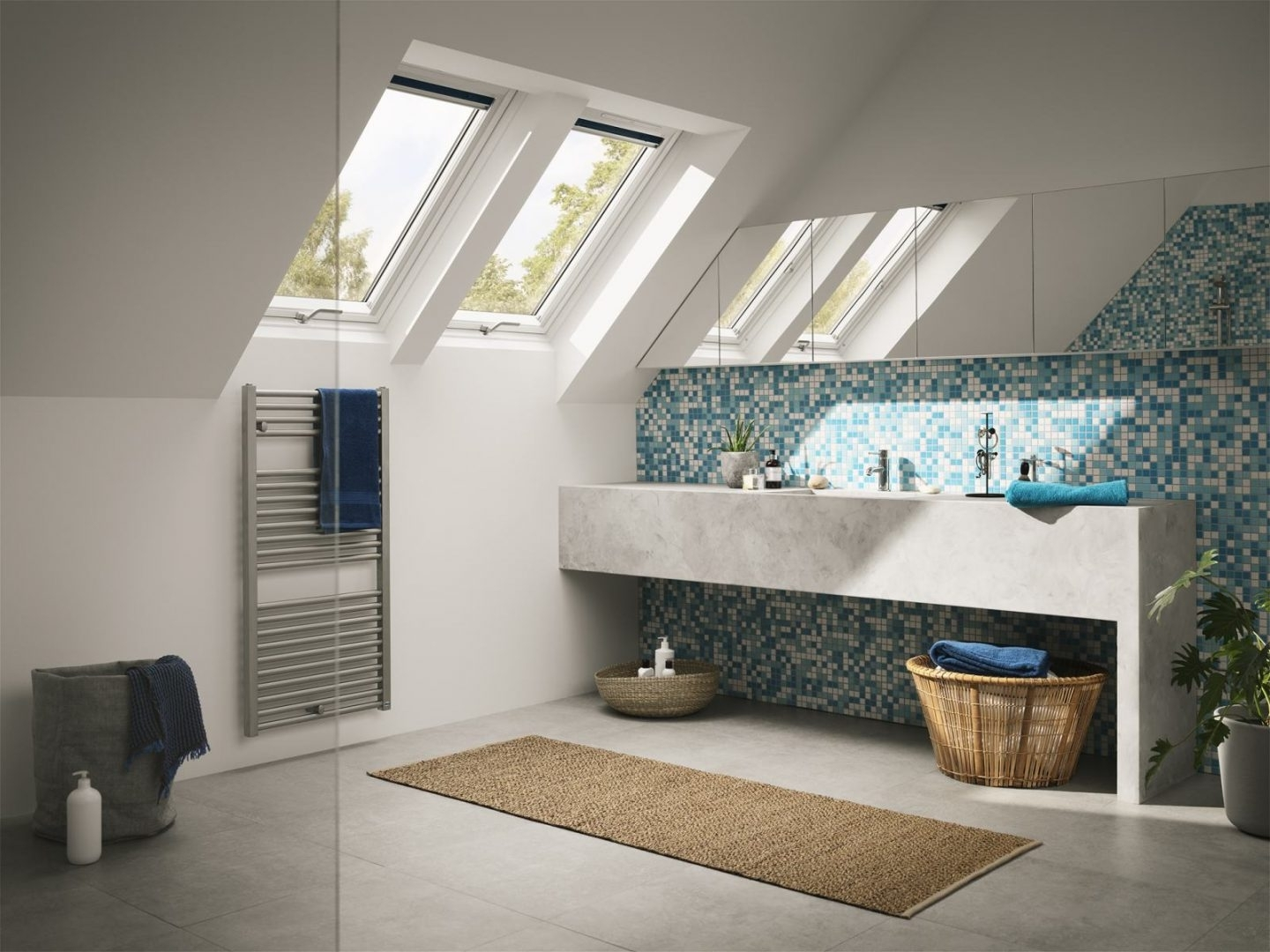 Creating A Daylight Filled And Airy Bathroom Loft Conversion Small Bathroom Loft Conversion