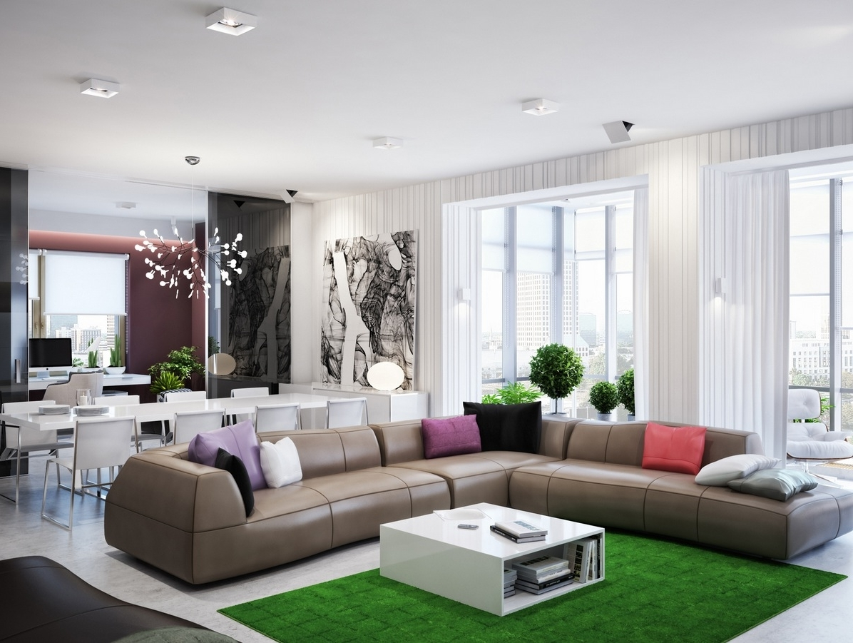 Decorate An L Shaped Living Room & Dining Room 20+ L Shaped Living Room Dining Room Decorating Inspirations