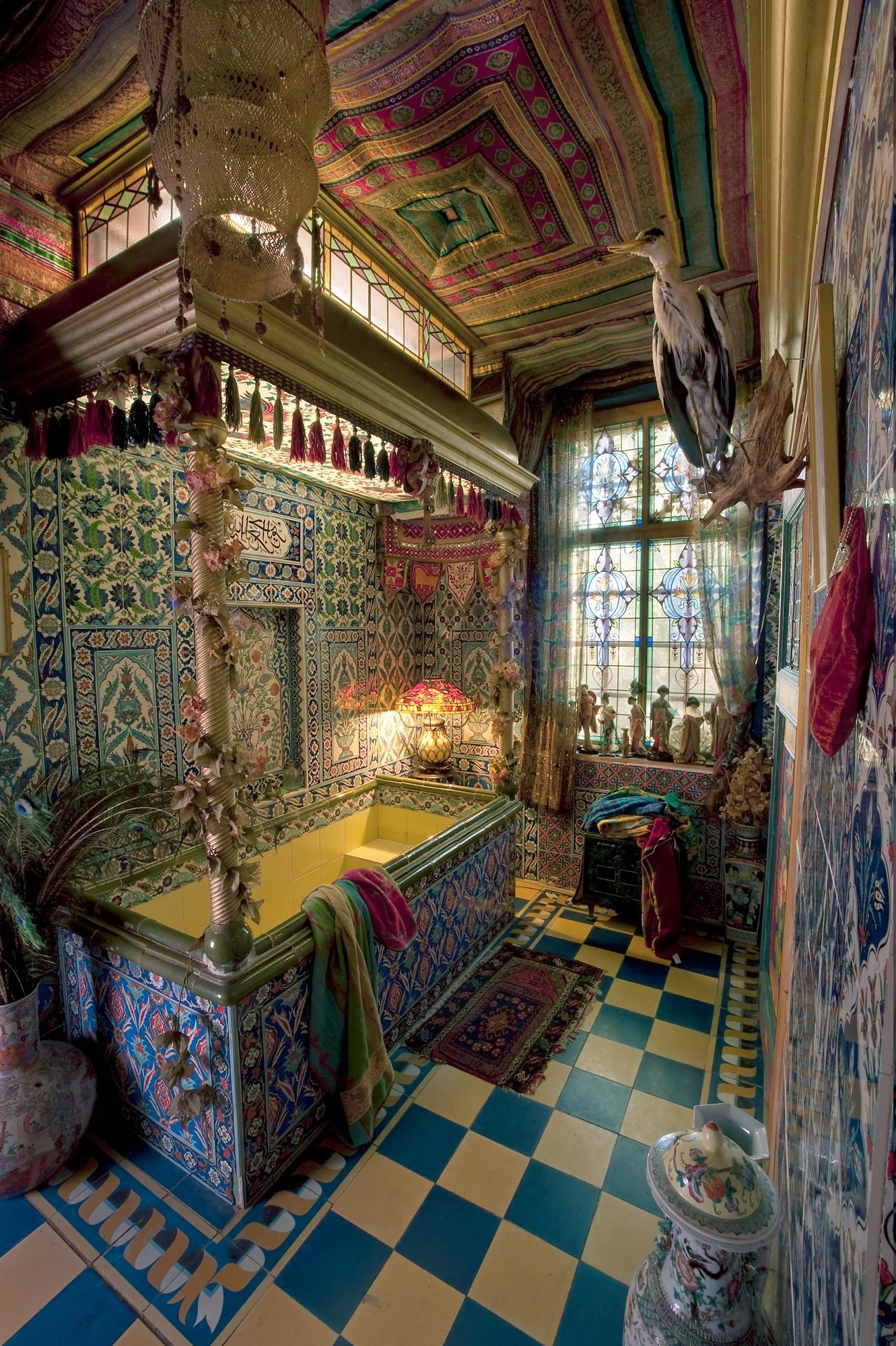 Decorate Your Bathroom With Old World Charm | Home, Bohemian 40+ Gypsy Bathroom Inspirations
