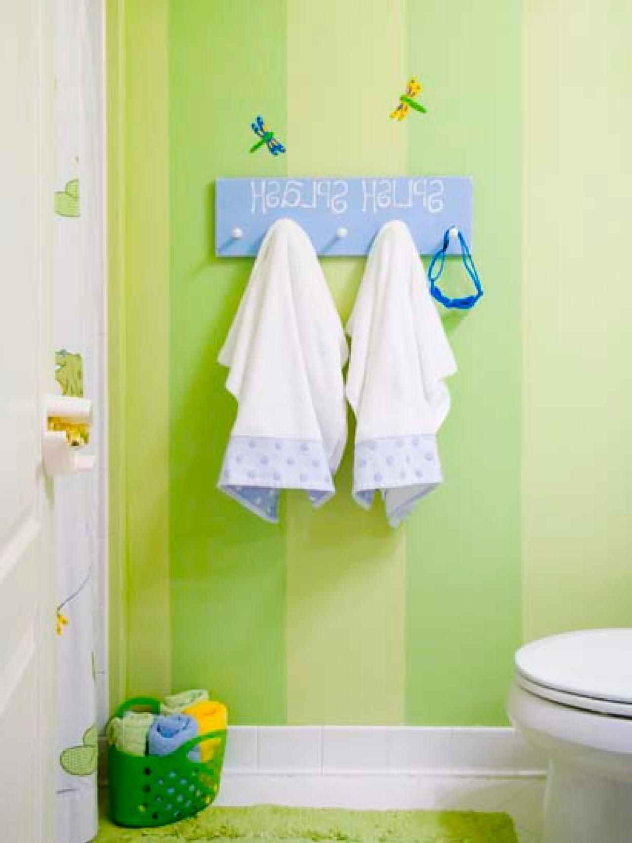 Decorating Kids Bathroom Can Be Very Fun. Every Corner Of 40+ Frog Bathroom Decorating Inspirations