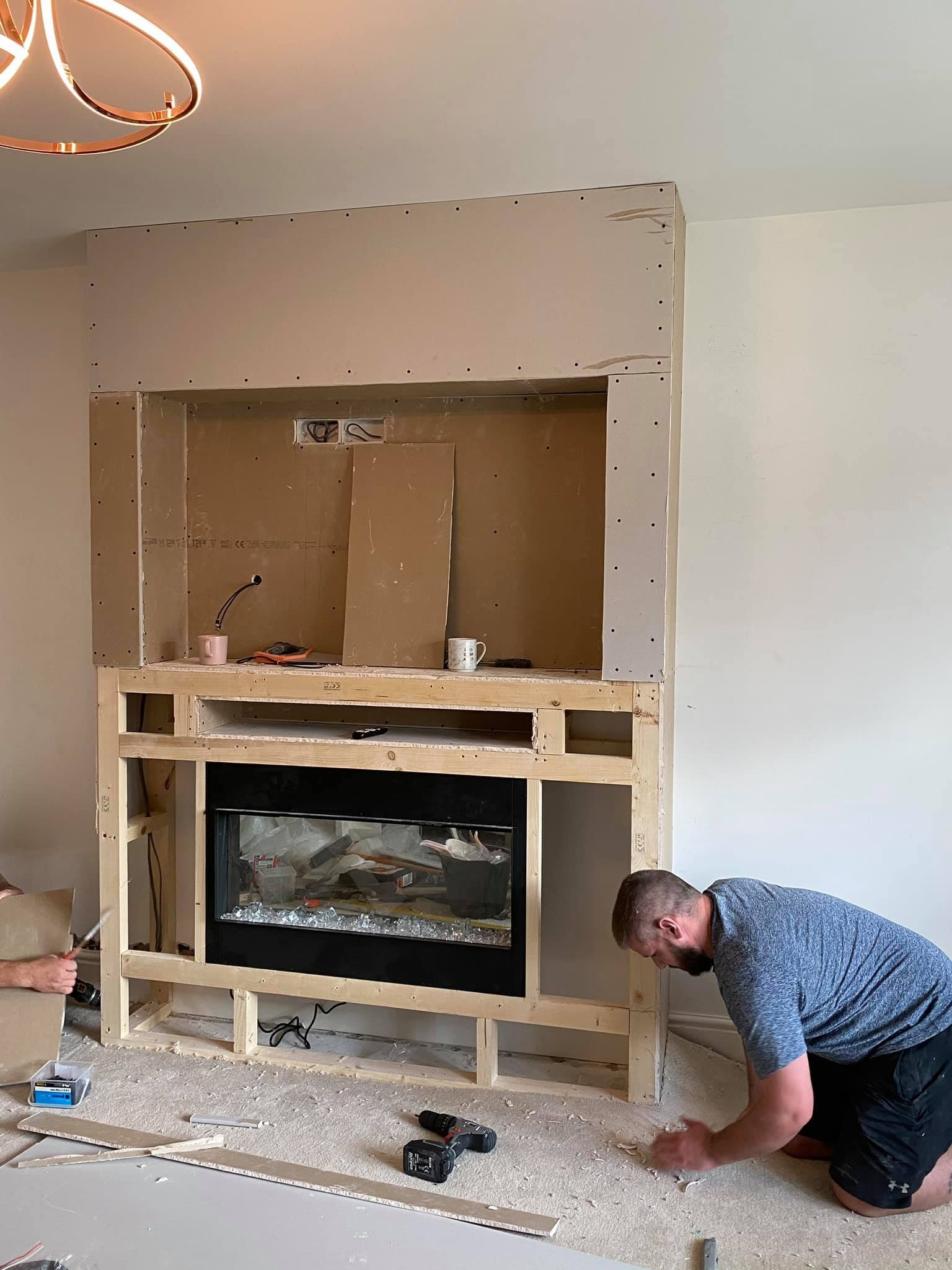 Diy Fans Are Building Stunning Chimney Breasts In Their 30+ Living Room Chimney Breast Inspirations