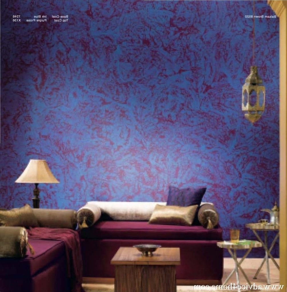 Dreamy Blue   Wall Texture Design, Bedroom Wall Paint Asian Paints Texture Paint Designs Living Room