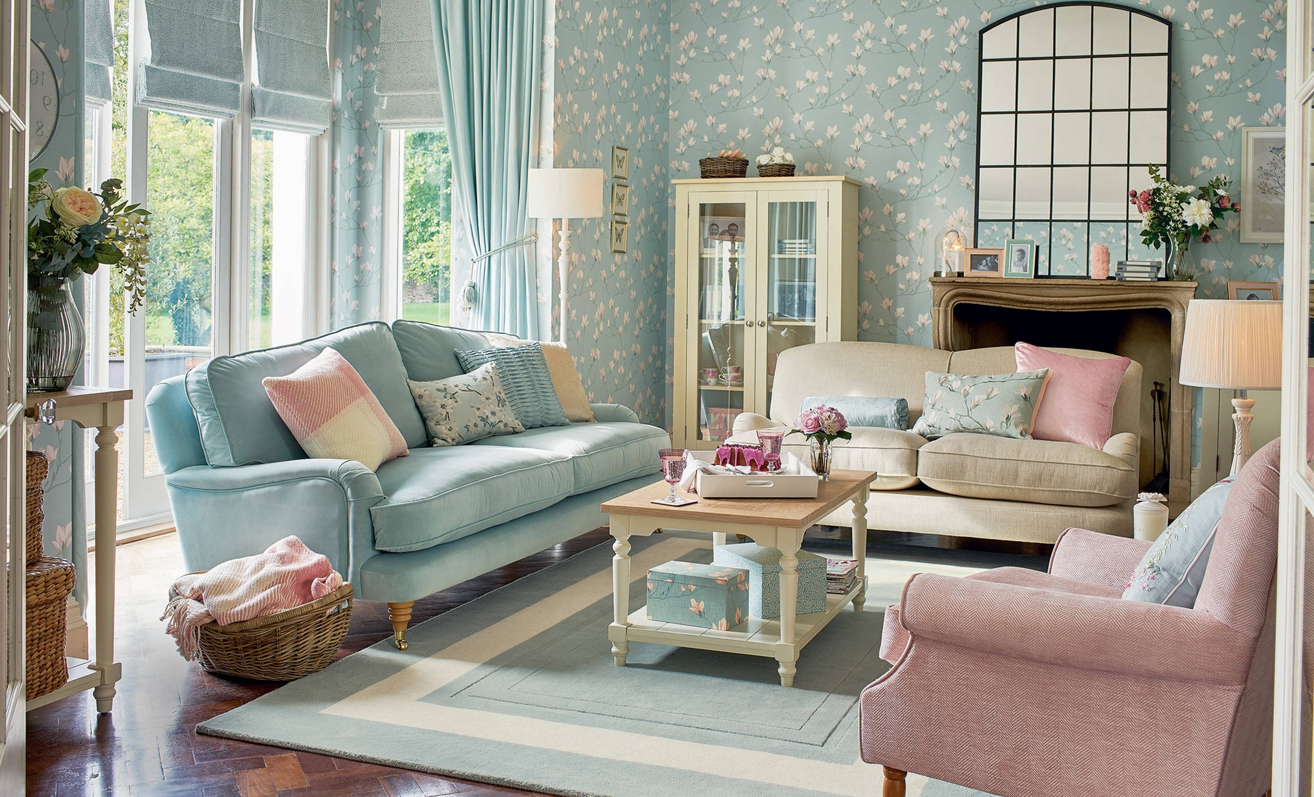 Duck Egg Living Room Ideas & Photos | Houzz 30+ Living Room Decorating Duck Egg Inspirations