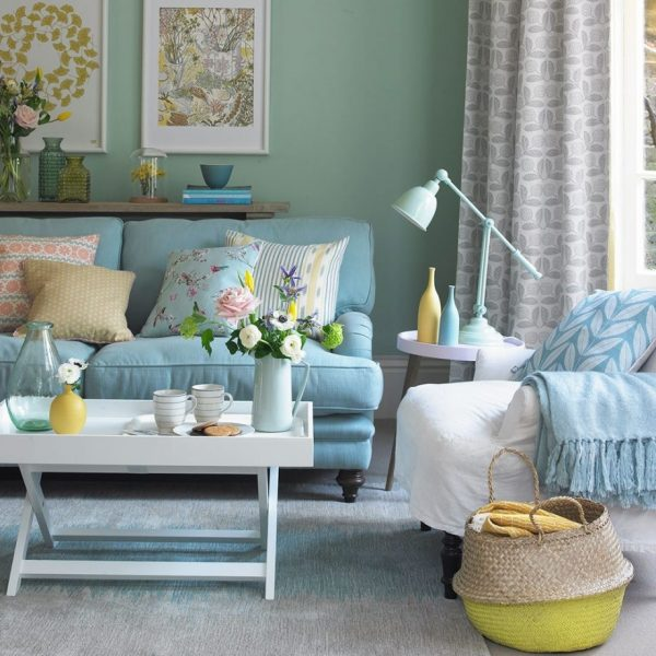 Duck Egg Living Room Ideas To Help You Create A Beautiful Scheme 20+ Duck Egg Living Room Decor Ideas