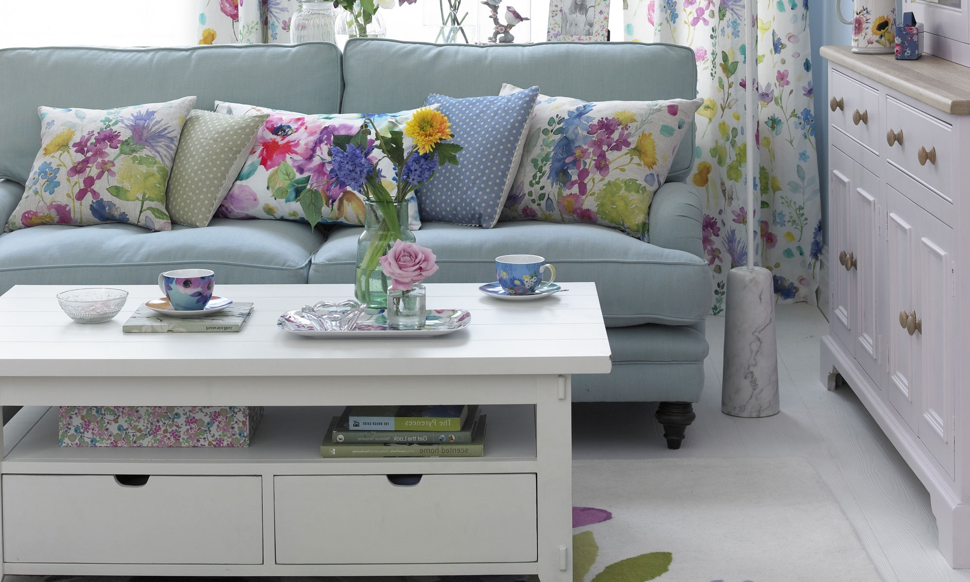 Duck Egg Living Room Ideas To Help You Create A Beautiful Scheme Living Room With Duck Egg Blue