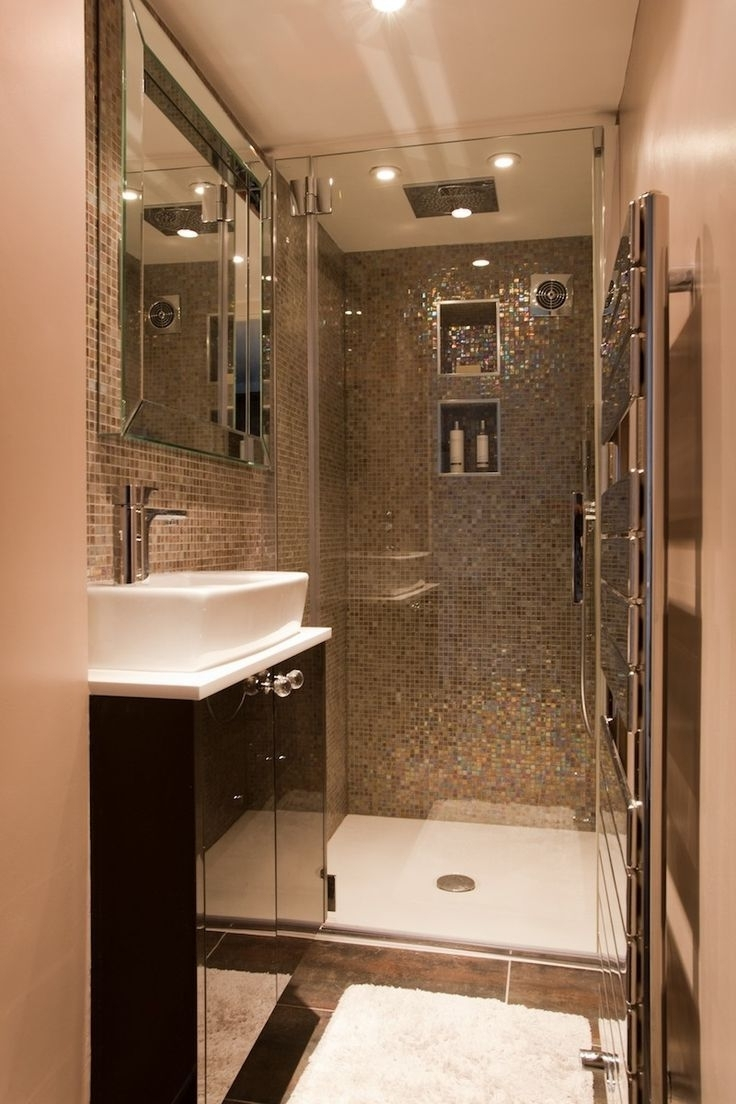 Enchanting Small Shower Ideas Pictures Photo Design Ideas 10+ Narrow Ensuite Bathroom Ideas