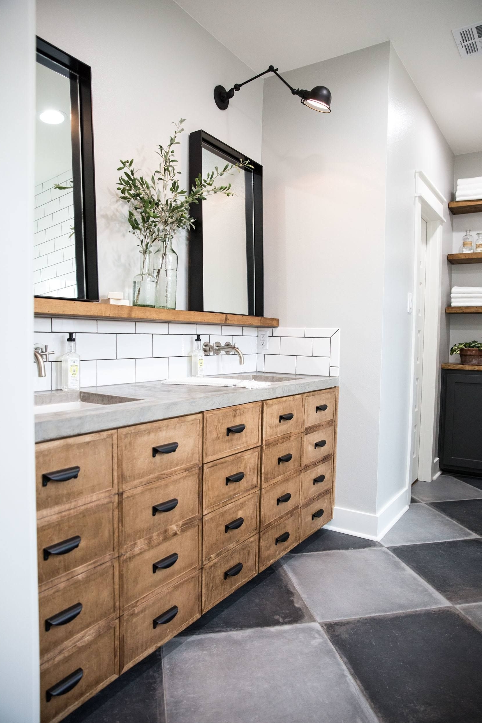 Episode 16 The Little Shack On The Prairie | Magnolia 30+ Fixer Upper Bathroom Design Inspirations